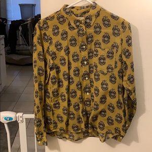 Madewell brand button-up shirt